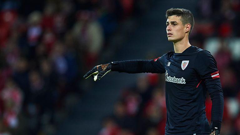 Kepa Arrizabalaga has signed a new contract at Athletic Bilbao