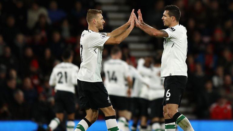 Ragnar Klavan and Dejan Lovren will face competition from impending arrival Virgil Van Dijk for a starting spot