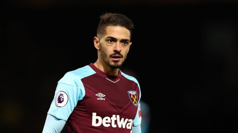 Manuel Lanzini will serve a two-match suspension with immediate effect