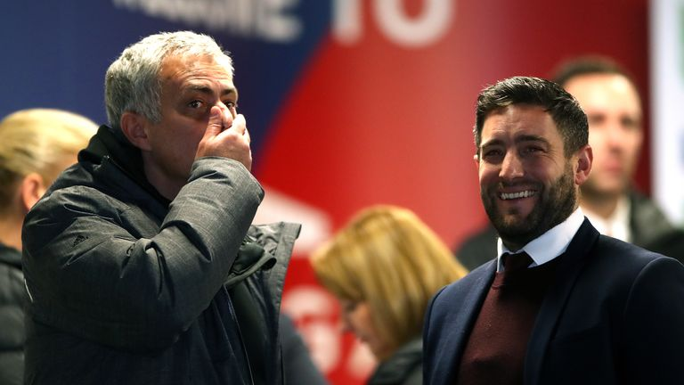 Lee Johnson (right) oversaw a quarter-final win over Jose Mourinho's Manchester United on Wednesday