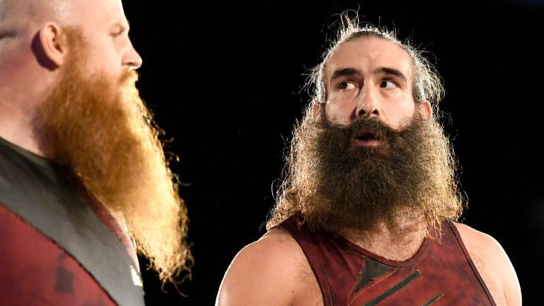 Luke Harper has been repackaged in a tag team with Erick Rowan