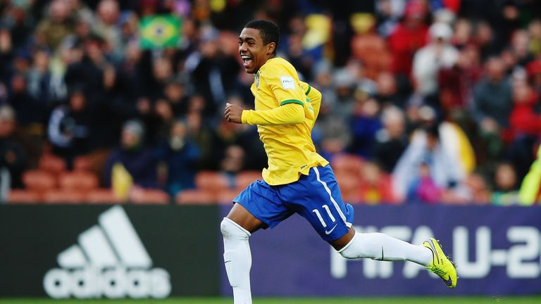 Malcom shone for Brazil at the FIFA U20 World Cup in 2015