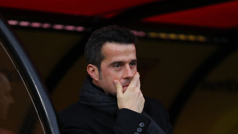Marco Silva is early favourite to be the next Everton manager