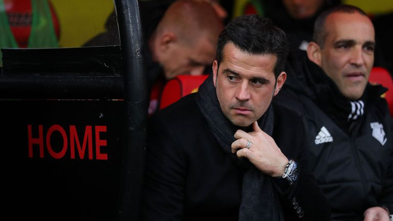 Watford head coach Marco Silva is well aware of the challenge his side face against Burnley