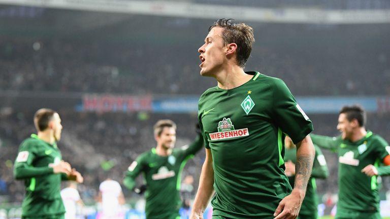 Max Kruse scored for Werder Bremen