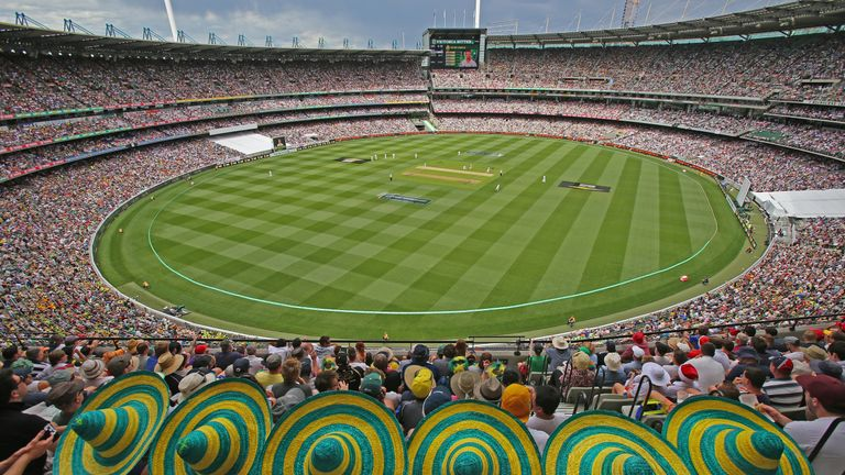 Authorities are targeting crowds of at least 25,000 people per day at the Melbourne Cricket Ground