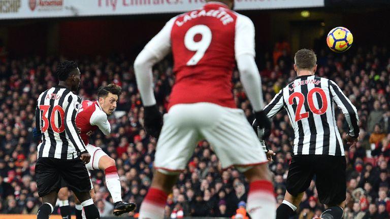 Arsenal 1 - 0 Newcastle - Match Report & Highlights