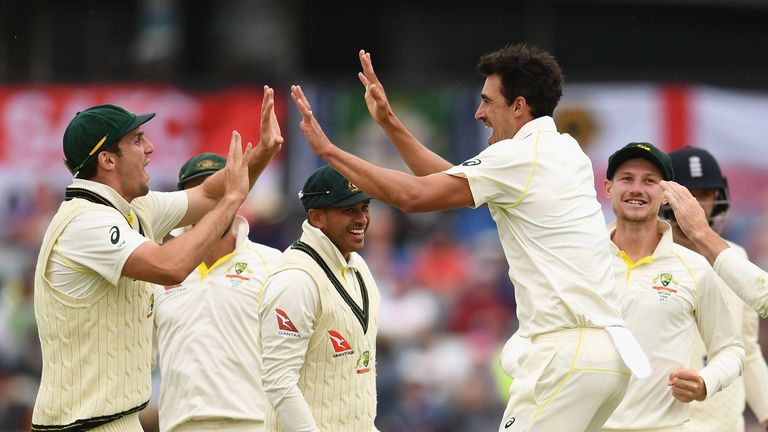 Australia's fast bowlers have steamrollered England to regain the Ashes