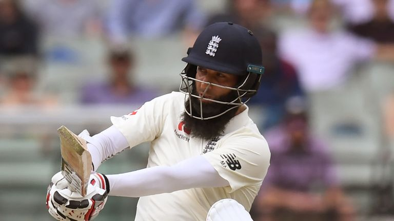 Moeen Ali figured in a short-surnamed England XI