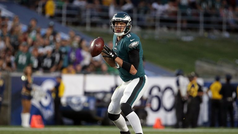 There are concerns in Philadelphia over the play of quarterback Nick Foles
