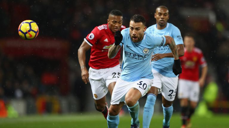 Manchester City showed authority and confidence, says Gary Neville