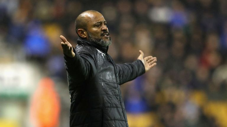 Nuno could make changes to his Wolves side