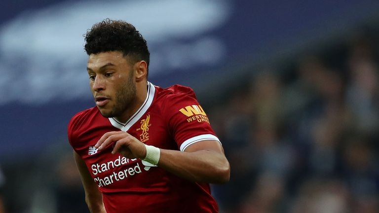 Oxlade-Chamberlain has scored three goals for Liverpool since his summer arrival
