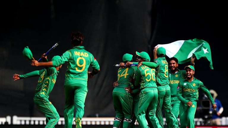 Pakistan, the lowest-ranked side in the tournament, were shock winners of the Champions Trophy
