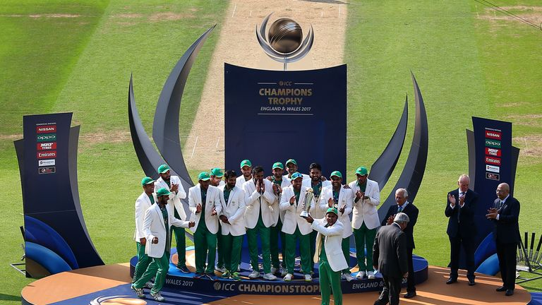 Pakistan won their first Champions Trophy when they triumphed over India at The Oval in 2017