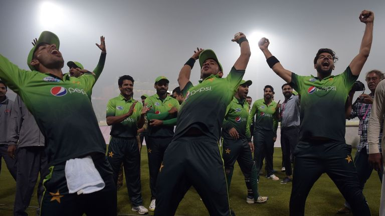 Pakistan won their T20 series against Sri Lanka in 2017