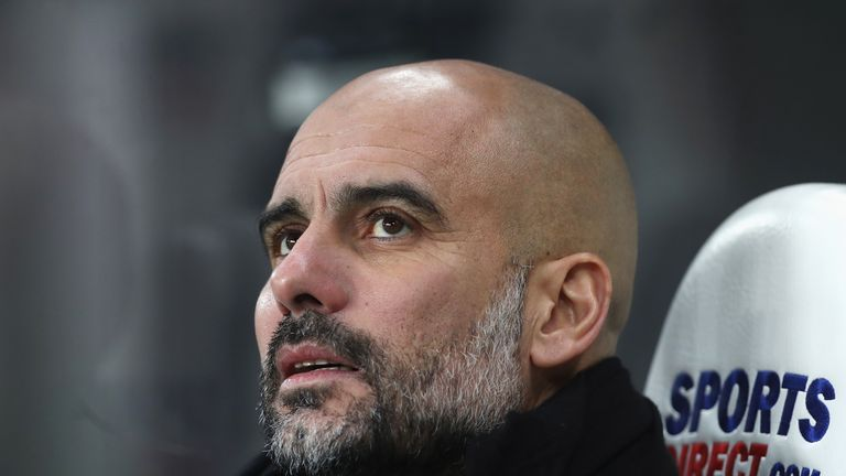 Pep Guardiola is eyeing a fifth domestic cup triumph