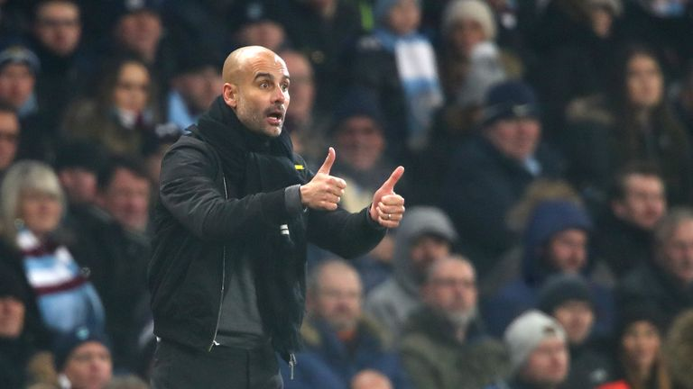Pep Guardiola says Man City's players will maintain winning intensity