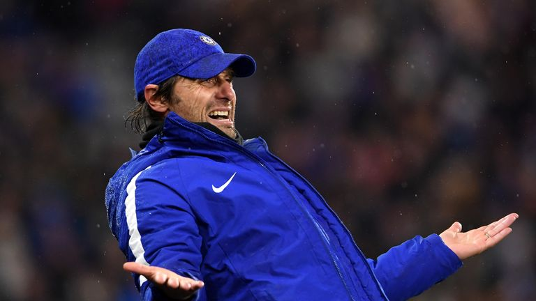 Antonio Conte has previously suggested he has little say in Chelsea's transfer policy