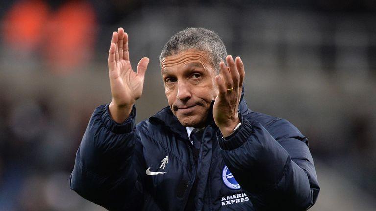Brighton boss Chris Hughton has sent Ahannach out on loan