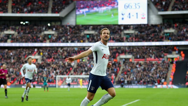 Harry Kane has a fine goalscoring record against West Ham