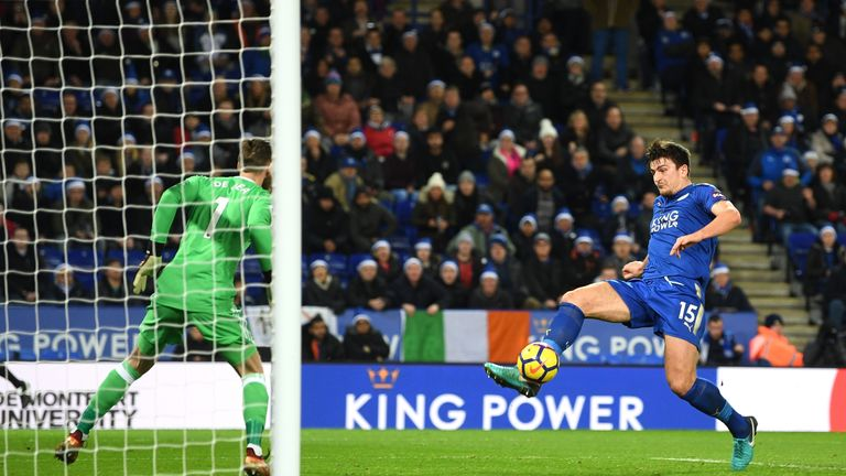 Harry Maguire strikes late to salvage a draw for Leicester City