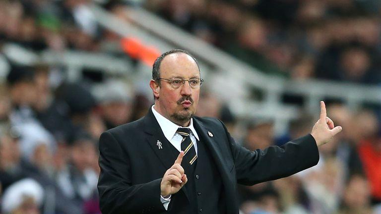 Rafa Benitez, manager of Newcastle United
