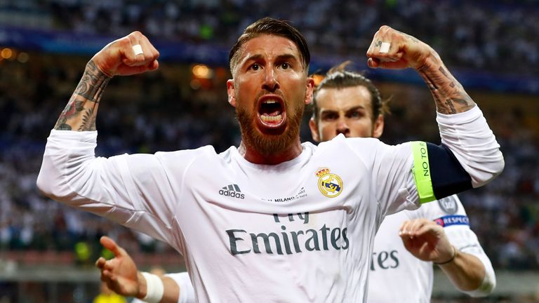 Sergio Ramos could miss the Champions League semi-final