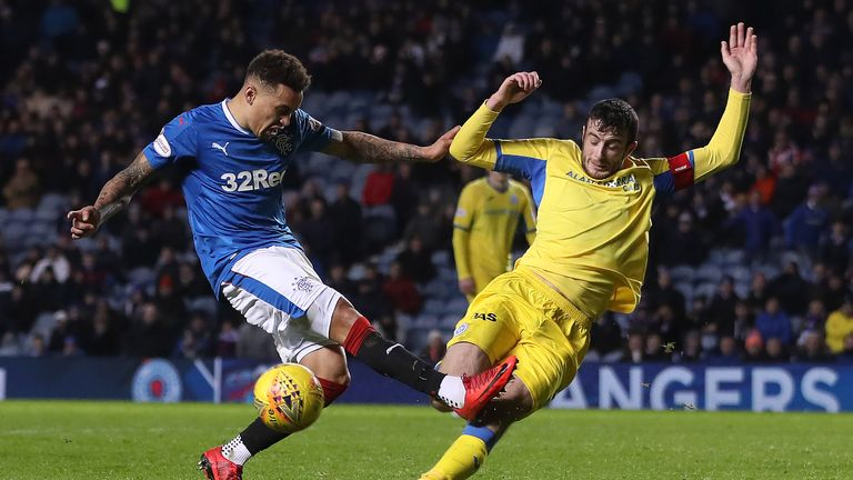 Rangers had won their last four league games ahead of their clash with St Johnstone