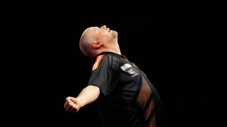 Raymond van Barneveld has a fight on his hands to stay in this year's Premier League