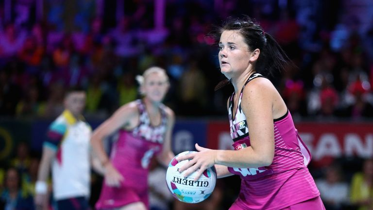 Renske Stoltz of South Africa has joins Wasps Netball ahead of the new Superleague season