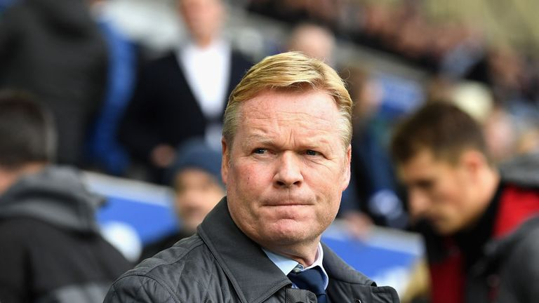 Ronald Koeman is over his Everton sacking