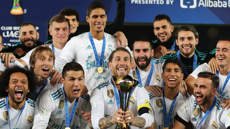 Real Madrid will being their FIFA Club World Cup defence in December