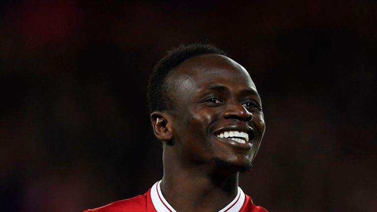 Liverpool's Sadio Mane has been included in Senegal's squad