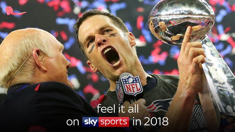 Feel it all on Sky Sports in 2018