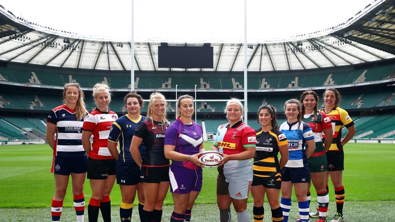 Tyrrells Premier 15s season launch at Twickenham Stadium