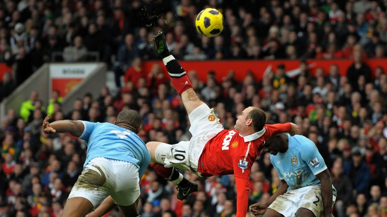 Wayne Rooney will always be remembered for this goal against Manchester City