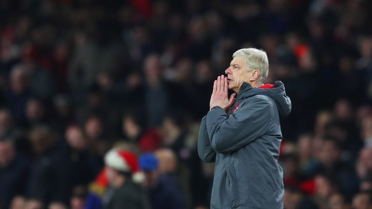 Arsene Wenger gave a 'great' half-time team talk, according to Hector Bellerin