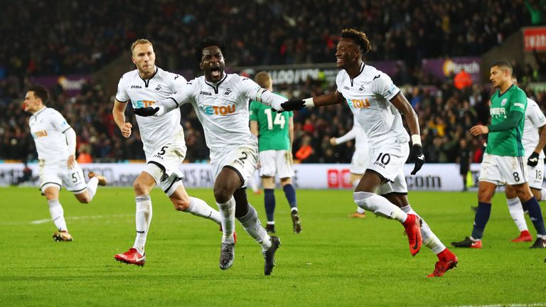 Wilfried Bony is back among the goals and will spearhead the front line against his former club City