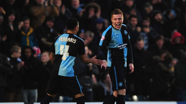 Nico Yennaris played alongside Swansea defender Alfie Mawson during a loan spell at Wycombe
