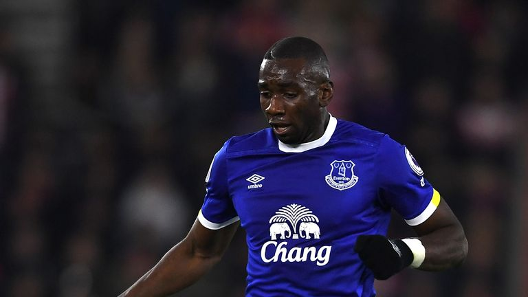 Yannick Bolasie: Not ready to return just yet says his manager Sam Allardyce