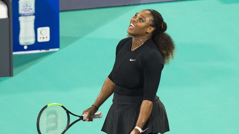 Serena Williams will represent USA in the Fed Cup next month