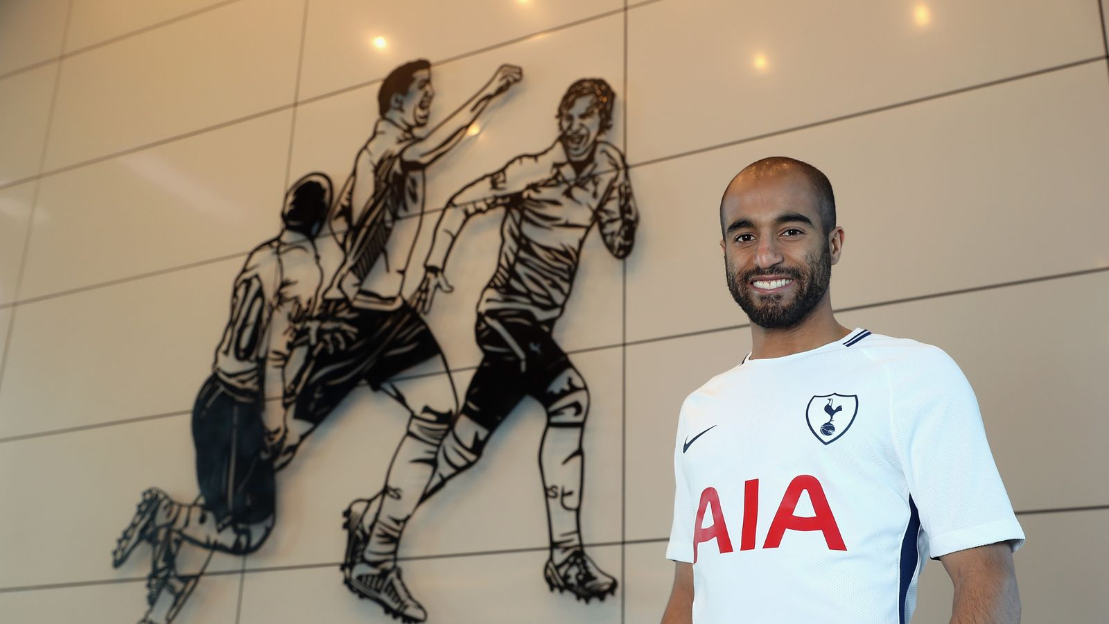 Lucas Moura joins Tottenham from Paris Saint-Germain on five-and-a
