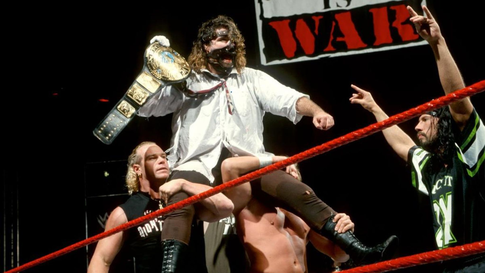 Mick Foley says 1999 WWF title win on Raw was a 'mistake' by
