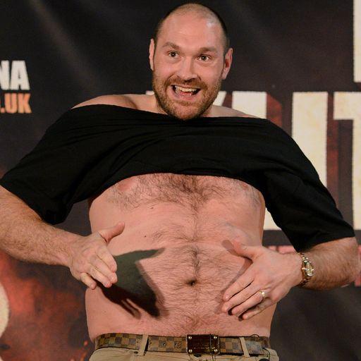 The Tyson Fury diet