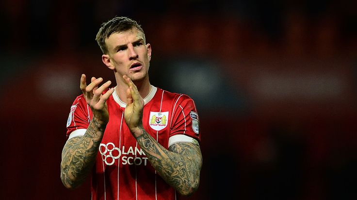 Aden Flint of Bristol City during the Sky Bet Championship match between Bristol City and Nottingham Forest at Ashton Gate