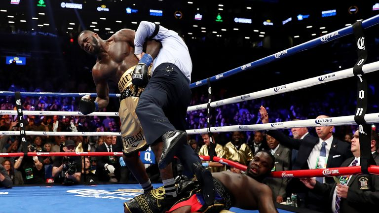 Wilder is 39-0 after knocking out Bermane Stiverne last year