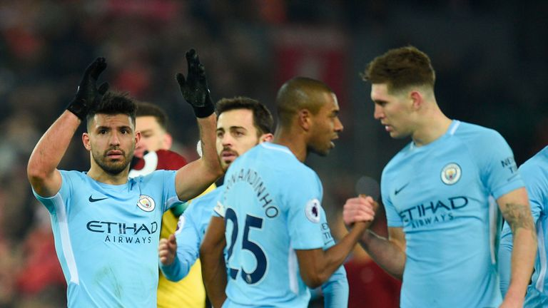 Man City will be looking to bounce back from their first Premier League defeat of the season