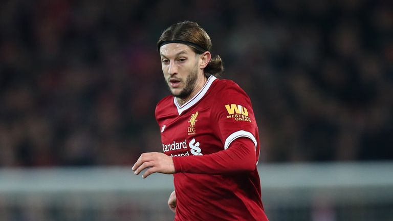 Adam Lallana has recent returned from injury for Liverpool