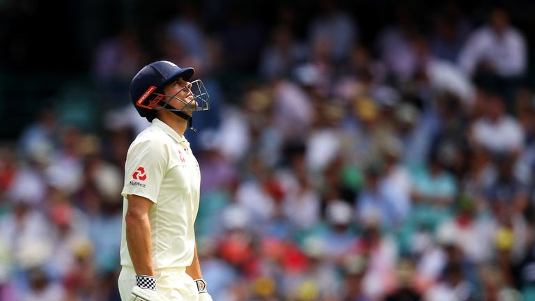 Melbourne aside, Alastair Cook failed to fire for England